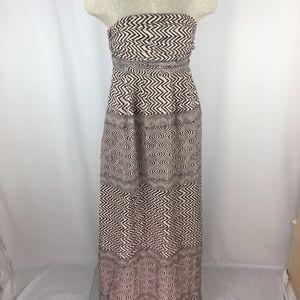 Edme Esyllte Anthropologie Dress Maxi Boho Aztec